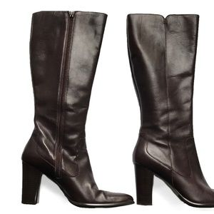 Harolds Premium Leather Knee High Boots